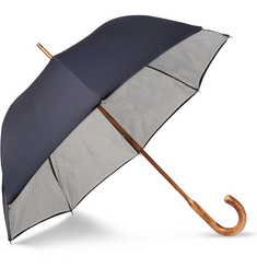 London Undercover Contour Map Maple-Wood Umbrella
