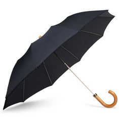 London Undercover - Maple-Handle Collapsible Umbrella