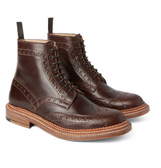 Grenson - Fred TripleWelt Leather Brogue Boots