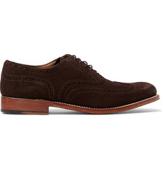 Grenson Dylan Suede Brogues