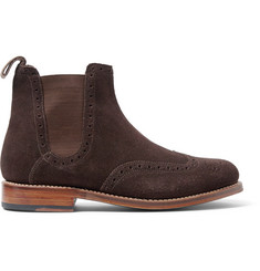 Grenson Jacob Suede Chelsea Boots