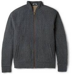 Tomas Maier Faux Shearling-Lined Wool Jacket