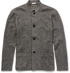 Tomas Maier Slim-Fit Herringbone Cotton and Wool-Blend Jacket