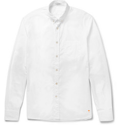 Tomas Maier Button-Down Collar Cotton-Poplin Shirt