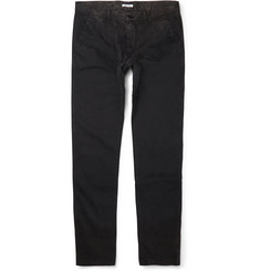 Tomas Maier Slim-Fit Faded Stretch-Cotton Trousers