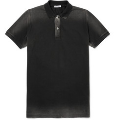 Tomas Maier Dégradé Cotton-Piqué Polo Shirt