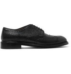 Cheaney Pebble-Grain Leather Brogues
