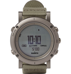 Suunto Essential Stainless Steel Digital Watch