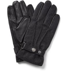 Dents Guildford Leather and Flannel Gloves