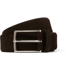 Anderson's 3cm Brown Suede Belt