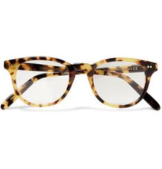 Cutler and Gross Tortoiseshell Square-Framed Optical Glasses