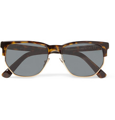 Cutler and Gross - Tortoiseshell and Metal Sunglasses
