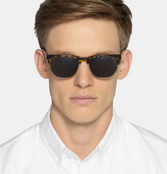 Cutler and Gross Tortoiseshell and Metal Sunglasses