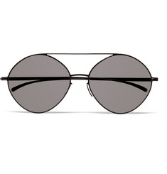 Maison Margiela + Mykita Stainless Steel Aviator Sunglasses