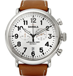 Shinola The Runwell Chronograph Watch 47mm