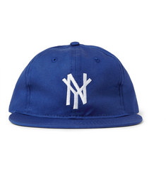 Ebbets Field Flannels New York Mammoths Appliquéd Wool Baseball Cap