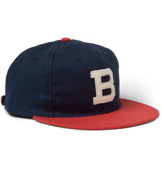 Ebbets Field Flannels Brooklyn Bushwicks 1949 Wool-Broadcloth Baseball Cap
