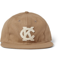 Ebbets Field Flannels Kansas City Monarchs Appliquéd Wool Baseball Cap