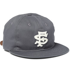 Ebbets Field Flannels San Francisco Seals 1949 Appliquéd  Wool-Twill Baseball Cap
