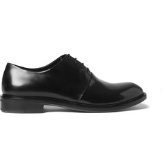 Paul Smith Shoes & Accessories Isaac Glossed Leather Oxford Shoes