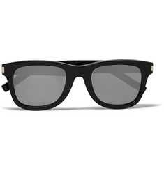Saint Laurent SL51 Square-Frame Acetate Sunglasses