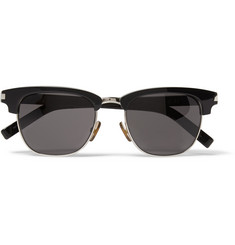 Saint Laurent SL83 Acetate and Metal Sunglasses