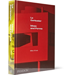 Phaidon Le Corbusier Ideas and Form  Hardcover Book