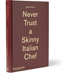 Never Trust a Skinny Italian Chef Hardcover Book