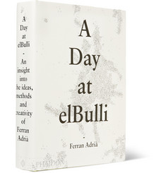 Phaidon A Day At elBulli: Classic Edition Hardcover Book