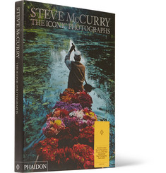 Phaidon Steve McCurry: The Iconic Photographs Hardcover Book