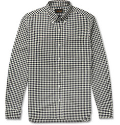 Beams Plus Slim-Fit Gingham Cotton Oxford Shirt