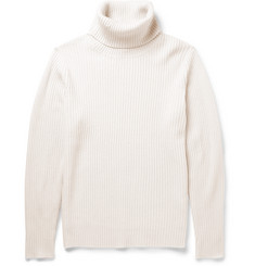 Beams Plus Ribbed Wool-Blend Rollneck Sweater
