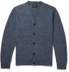 Beams Plus Slim-Fit Melangé Wool Cardigan