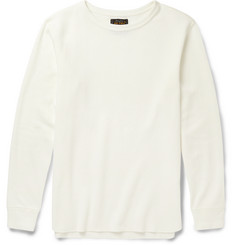 Beams Plus Waffle-Knit Cotton T-Shirt