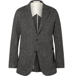 Beams Plus Grey Herringbone Harris Tweed Blazer