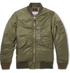 Beams Plus MA-1 Shell Down Bomber Jacket