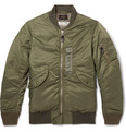 Beams Plus - MA-1 Shell Down Bomber Jacket