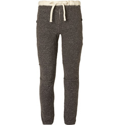 Beams Plus Slim-Fit Melangé Cotton-Blend Twill Sweatpants