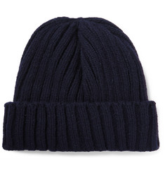Beams Plus Ribbed Wool Beanie
