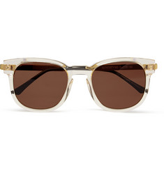 Thierry Lasry Authority D-Frame Acetate Sunglasses