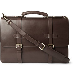 Lotuff Bridle Leather Briefcase