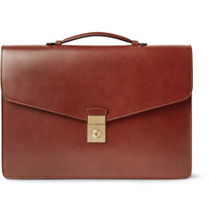 Lotuff Bridle Leather Attaché Case