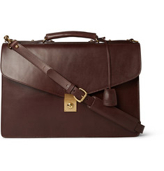 Lotuff Lock Bridle Leather Briefcase