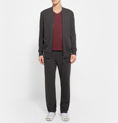 Hanro Zip-Up Cotton-Jersey Jacket