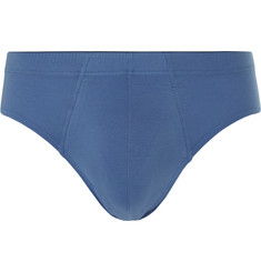 Hanro Mercerised Stretch-Cotton Briefs