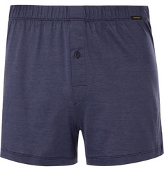 Hanro Mercerised Cotton-Jersey Trunks