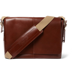 Brooks England Barbican Leather Satchel