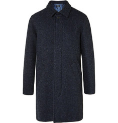 A.P.C. Herringbone Wool-Tweed Coat