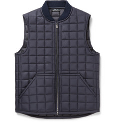 A.P.C. Dustin Quilted Shell Gilet