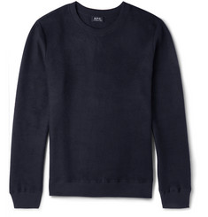 A.P.C. Slim-Fit Cotton-Blend Sweatshirt